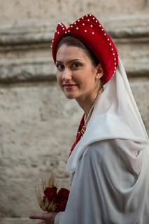 Giostra della Quintana: una graziosa dama (2018)