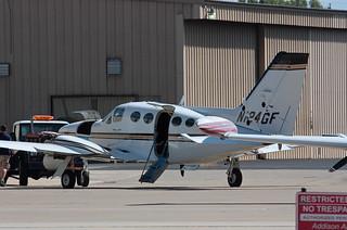 N124GF Cessna 414A
