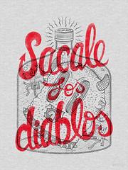 Sacale los Diablos (Calaveras y Gatitos) Tags: bottle drink devil demons rum spirit nicaragua crazy latin american revelry guaro alcohol liquor diabolic