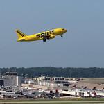 N504NK - Spirit Airbus A319 thumbnail