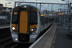 379025 (Rob390029) Tags: 379025 abelio greater anglia emu electric multiple unit train track tracks rail rails travel travelling transport transportation transit public bethnal green railway station bet london geml great eastern mainline