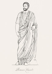 Roman consul from An illustration of the Egyptian, Grecian and Roman costumes by Thomas Baxter (1782-1821).Digitally enhanced by rawpixel. (Free Public Domain Illustrations by rawpixel) Tags: illustration psd publicdomain otherkeywords afterlife anillustrationoftheegyptian ancient ancientgreek antique art artistic baxter belief cc0 consul drawing empire gods grecian grecianandromancostumes greek historic historical history holding muscle mythology old oldtime pen roman romanconsul romans sketch standing thomasbaxter vintage worship