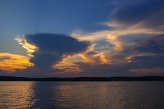 Clouds at sunset - Lake Hartwell - Anderson S.C. (DT's Photo Site - Anderson S.C.) Tags: canon 6d sigma 35mm14 art lens upstate andersonsc lakehartwell