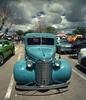 car show (Mike Connealy) Tags: cars vivitarultrawideslim kodakcolorplus200 unicolorc41 vuws newmexico film analog