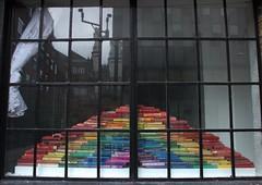 London : the erudite window (chriskatsie) Tags: fenetre window livre book color knowledge connaissance lecture lettre page