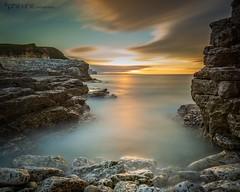 Eastern Delight (Pureo) Tags: northsea flamborough flamboroughhead yorkshire north sea longexposure le leefilters tide rocks sunset