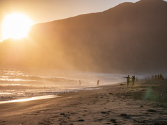 POTD 203 (Webtraverser) Tags: 365picturesin2018 beach bigsun everydayphotographer g85 goldenhour lumix magichour micro43 ocean pacificcoast pad2018203 pictureoftheday pointmugu summertime sunset sunsetatthebeach sunsetting malibu california unitedstates us
