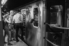 5 Train (jameshouse473) Tags: nyc mta subway union square station monochrome passenger transit new york city