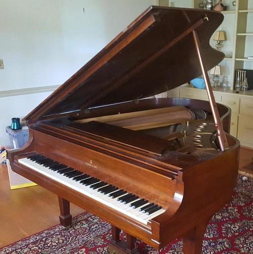 Steinway Baby Grand Piano ($4,032.00)