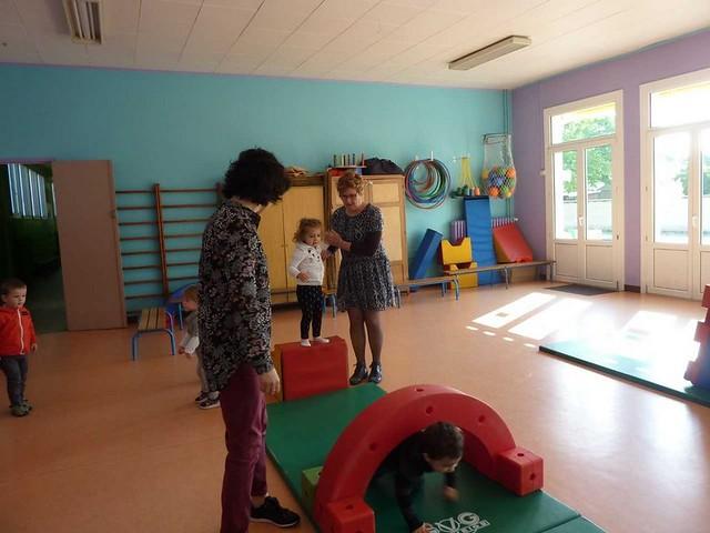 Photo 5 - Les enfants du multi-accueil découvrent l'école