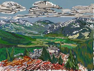 My Travels - Banff National Park Sulphur Mountain