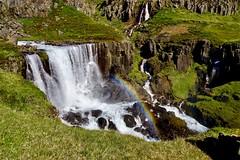 Rainbow (karinriga) Tags: seydisfjördur island iceland wasserfall regenbogen rainbow waterfall