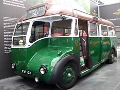 London transport rear engined Leyland Cub CR16 London Bus Museum 24/06/18. (Ledlon89) Tags: bus buses london transport lt lte lptb londonbus londonbuses londontransport vintagebuses weybridge brooklands londonbusmuseum