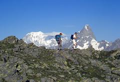 Hiking on the Alps (giorgiorodano46) Tags: agosto1997 august 1997 giorgiorodano analogic fotoanalogica alpi alpes alps alpen valferret drone hiking trekking randonnée escursione vallese valais wallis svizzera suisse switzerland schweiz italy valdaosta valléedaoste montblanc montebianco