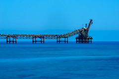 The Blues (George Plakides) Tags: karavostasi occupiedcyprus copper mine blue leend crane