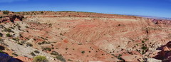 Tongue Valley panorama looking west (Chief Bwana) Tags: az arizona pariaplateau vermilioncliffs tonguevalley navajosandstone viewpoint panorama sandstone psa104 chiefbwana