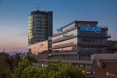Mercedes Center Munich (SGO Photography by StG) Tags: münchen munich architektur mercedes center dämmerung