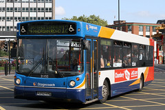 21152 R252 KRG (Cumberland Patriot) Tags: stagecoach north east england in newcastle busways travel services ltd tyne and wear pte passenger transport executive volvo b10ble alexander alx 300 alx300 2252 21152 k252krg