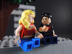 Spending Time With You (-Metarix-) Tags: lego minifig dc comics comic teen titans vol 3 geoff johns superboy wondergirl cassie sandsmark kon el conner kent