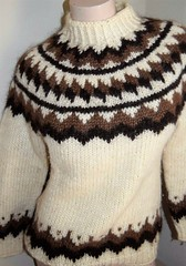 Icelandic Lopi ullar wool sweater (Mytwist) Tags: lopi icelandic icelandicsweater íslensk isle ullarpeysa ullar design lopapeysa iceland istex knit vtg hilda womens pure nw wool pullover thick heavy sweater thewaywewear love passion casual knitted timeless warm cozy retro