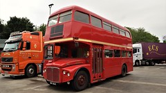 Ex - London Transport. NMY 662E. RMA62. (Drive-By Photography) Tags: londontransport rma62 nmy662e aec routemaster bus psv vintage london lt bea britisheuropeanairways bea62 leyland parkroyal somerset