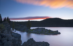 Anyone who keeps the ability to see beauty never grows old… (ferpectshotz) Tags: sparkslake southsister brokentop bend cascaderange oregon centraloregon sunset bigstopper clouds lake lakeshore