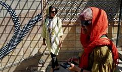 Stripes (blondinrikard) Tags: women stairs shadows iran tehran