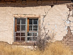 Chirriante  (Squeaky) (garshna) Tags: squeaky chirriante adobe abandoned bed bedsprings glass newmexico weathered