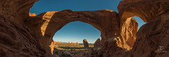 Double Arches (J. C. Wang, Ph.D.) Tags: ngc arches moab utah