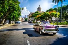 Avenida Belgica in Havana (Rey Cuba) Tags: havana cuba cubacar classiccars classiccar cuban caribe caribbean cubanphotographerjoseantonioreyrodriguez cubanos cubanas cubaphoto cubafoto cars carretera calles cubans streets cubanstreets havanacity habanavieja oldhavana oldcar