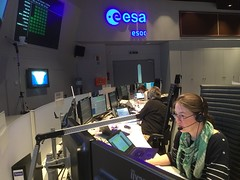Sim training (europeanspaceagency) Tags: operationsimageoftheweek operations europeanspaceoperationscentre esoc bepicolombo elsamontagnon maincontrolroom controlroom esa europeanspaceagency space universe cosmos spacescience science spacetechnology tech technology