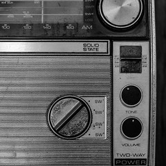 Solid State (jtr27) Tags: dscf9772xl jtr27 fuji fujifilm xe2s xtrans vivitar komine 55mm f28 macro manualfocus old antique transistor radio solidstate twowaypower blackandwhite bw nb square vintage analogue
