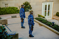Australian War Memorial - Catafalque party practice (naemickpics.com) Tags: 2018 australian war memorial naemickpicscom lest we forget canberra naemickpics australia lestweforget australianwarmemorial campbell australiancapitalterritory au visitact awm ww1 ww2 soldier airman seaman