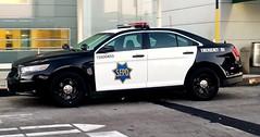San Francisco Police Ford Interceptor Sedan Airport Bureau (Caleb O.) Tags: sfpd ford sedan airport taurus