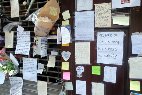 NYC - FiDi: Les Halles - Anthony Bourdain Memorial