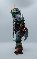 [Biocup Round 1] Sea Chieftain Karzahni (0nuku) Tags: bionicle lego biocup2018 karzahni viking jarl monster titan mahrinui