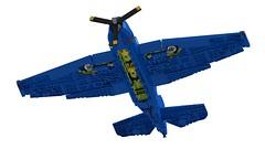 Lego TBM-3 Avenger - 04 (Lt. SPAZ) Tags: lego moc grumman tbm avenger naval torpedo bomber wwii allies aircarft airplane us navy