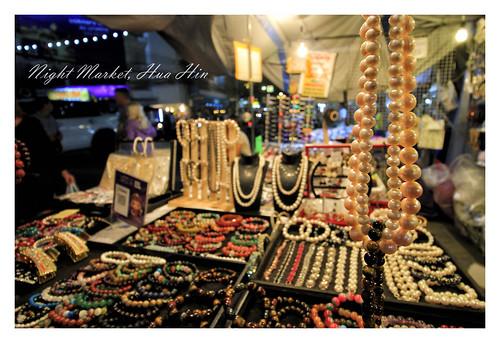 Night Market, Hua Hin