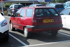 1997 Citroen ZX 1.9D Leader (occama) Tags: p398nom citroen zx 19d leader 1997 red old french cornwall uk estate break