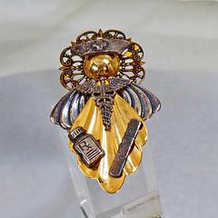 Angel Brooch. Nurse Brooch. Vintage Brooch. Christmas Pin. Mixed Metal Angel Brooch. Angel Pin. Christmas Jewelry. Jewelry for Women. waalaa (waalaa) Tags: etsy vintage antique gifts shopping jewelry