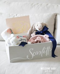 Basket Gifts : How sweet is this baby box! www.stylemepretty… (giftsmaps.com) Tags: gifts