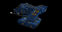 vulture v14 transportship2 (demitriusgaouette9991) Tags: lego military army ldd armored transport sky powerful vehicle deadly landing tank