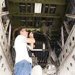 Ken working close while I lie on the runway... EKA-3B DSC_0050 thumbnail