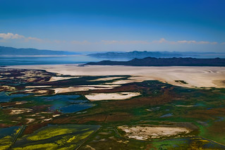 Great Salt Lake, state of Utah, USA
