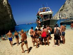 IMG_1227 (SyrianSindibad) Tags: greece zakynthos navagiobeach shipwreckbeach smugglerscove