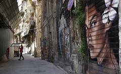 Palermo_Vucciria_raggazza_di_fiori (ante_fischer) Tags: graffiti palermo italien italy garraffello donna donne linda randazzo street amore blick vucciria murales art arts streetart ragazzadifiori fiori incontro