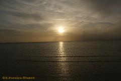 Copper Sunset in Cayo Coco, Cuba (Sebastiao P Nunes) Tags: spnunes nunes snunes spereiranunes cayococo hotelpestana cuba pordesol entardecer poniente atardecer praia playa oceano mar lumixfz330k panasonic