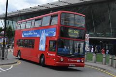 Stagecoach Dennis Trident 18494 LX06AGZ - Stratford, London (dwb transport photos) Tags: stagecoach dennis trident alexander alx400 bus decker 18494 lx06agz stratford london