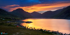 Wast Water Sunrise (Dave Massey Photography) Tags: wastwater lakedistrict cumbria outdoor dawn sunrise greatgable yewbarrow