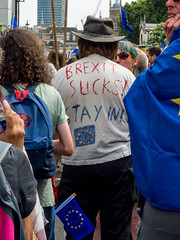 IMGP7009-e (anjin-san) Tags: brexit wrexit antibrexit marchforapeoplesvote uniteforeurope protest march protestmarch middlesex london westminster fuckbrexit brexshit brexcrement anger eu europeanunion proeurope proeu pallmall stjames picadilly trafalgarsquare 10downingstreet theresamay mothertheresa plackard plackards bluesky summer marchforeurope theresatheappeaser england unitedkingdom uk greatbritain gb oncegreatbritain formerlyunitedkingdom fuk littleengland littlebritain britishexit isolationism xenophobia totalitarianstate totalitarianism regime junta perfidiousalbion remain reainer remainers remoan remoaners liberalelite enemiesofthepeople endoftheworldasweknowit wearethe48 48 wheresjeremycorbyn stalbansforeurope europeanmovementuk scientistsforeu 2018 pentax pentaxmx1 mx1 pentaxshooter pentaximages